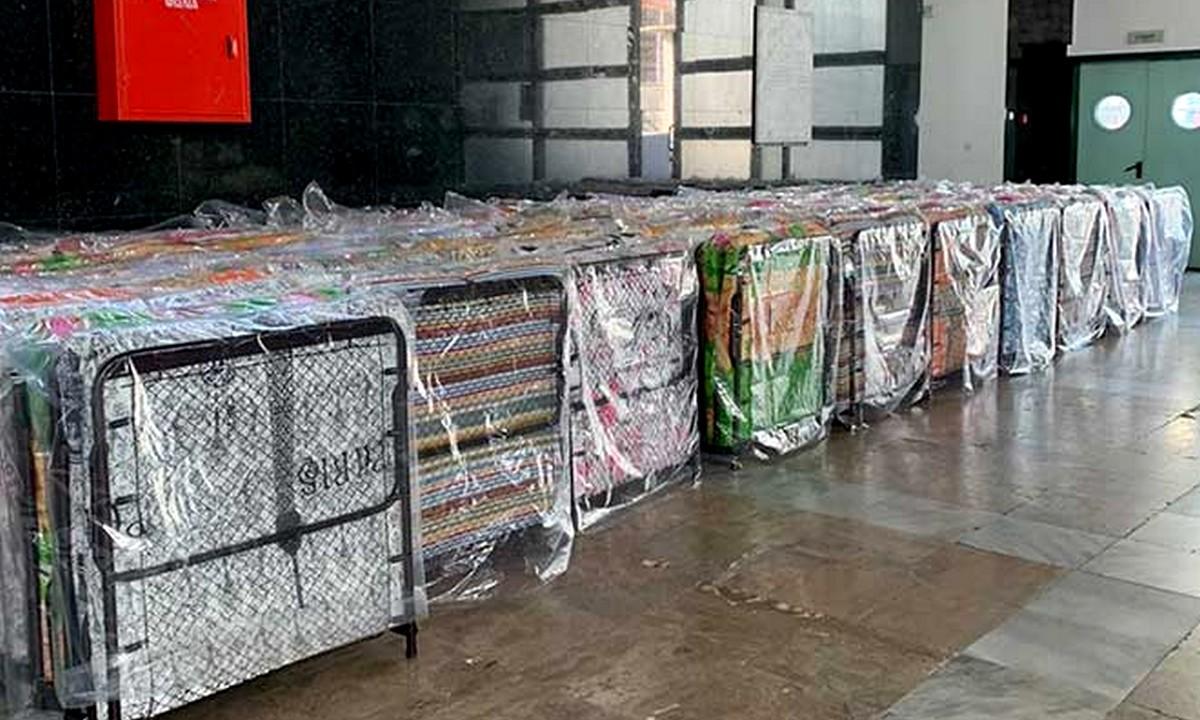 Κορονοϊός – Ξάνθη: 100 κρεβάτια στήνει ο Δήμος στο κλειστό «Φίλιππος Αμοιρίδης»