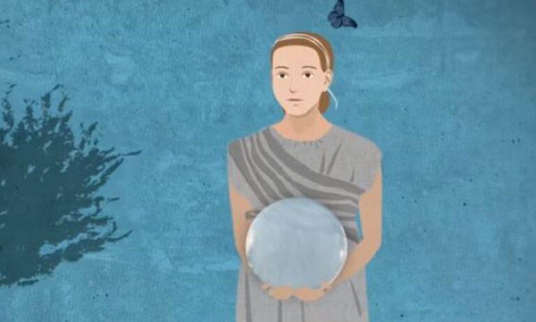 Το τερμάτισαν! Η 11χρονη Μύρτις από την αρχαία Αθήνα προειδοποιεί για τον κορονοϊό (vid)