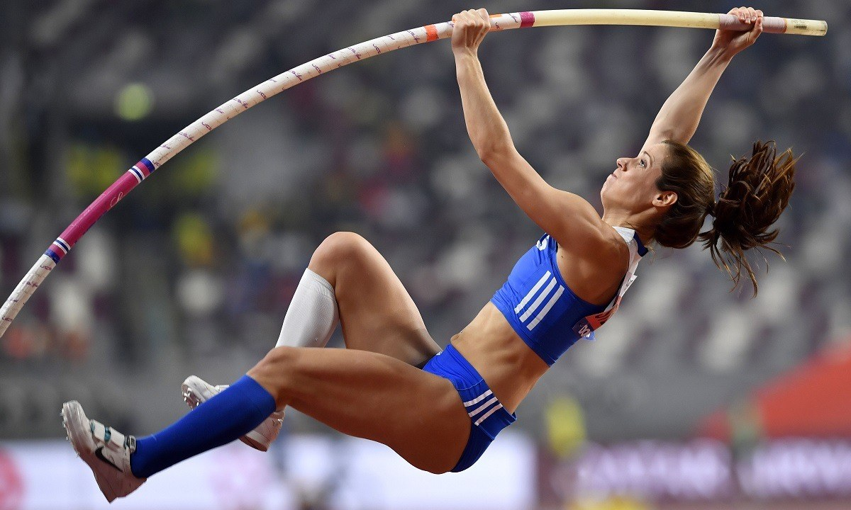 Τρίτη η Κατερίνα Στεφανίδη στη Φλωρεντία με 4,66 μ.