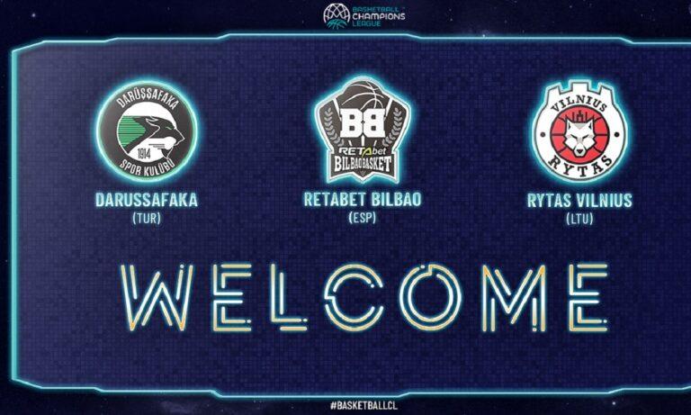 BCL: Προστέθηκαν τρεις ομάδες στην διοργάνωση
