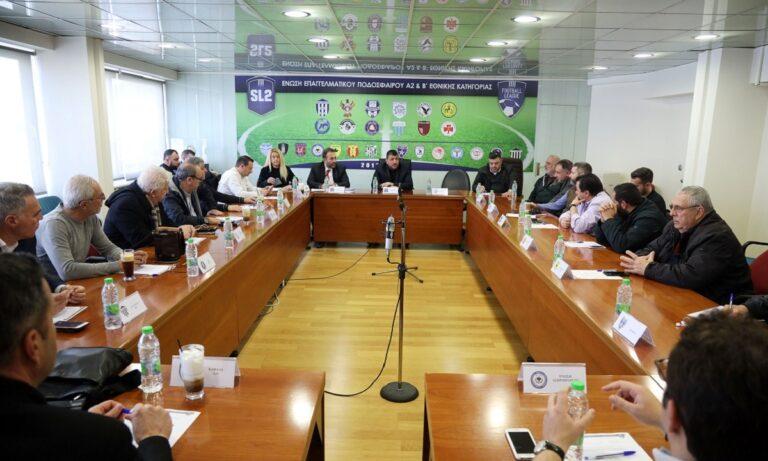 Football League: Εστάλη στον Λεουτσάκο η πρόταση για αναδιάρθρωση