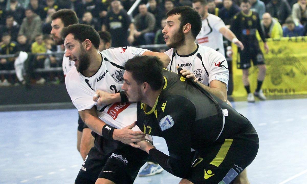 Διακοπή στα πρωταθλήματα χάντμπολ: Πρωταθλήτρια η ΑΕΚ στους άνδρες, ο ΠΑΟΚ στις γυναίκες - Sportime.GR