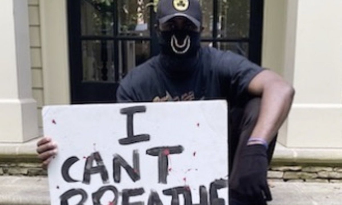 Τζορτζ Φλόιντ: Ο Τζέιλεν Μπράουν οδήγησε 15 ώρες για να διαδηλώσει ειρηνικά (vid)