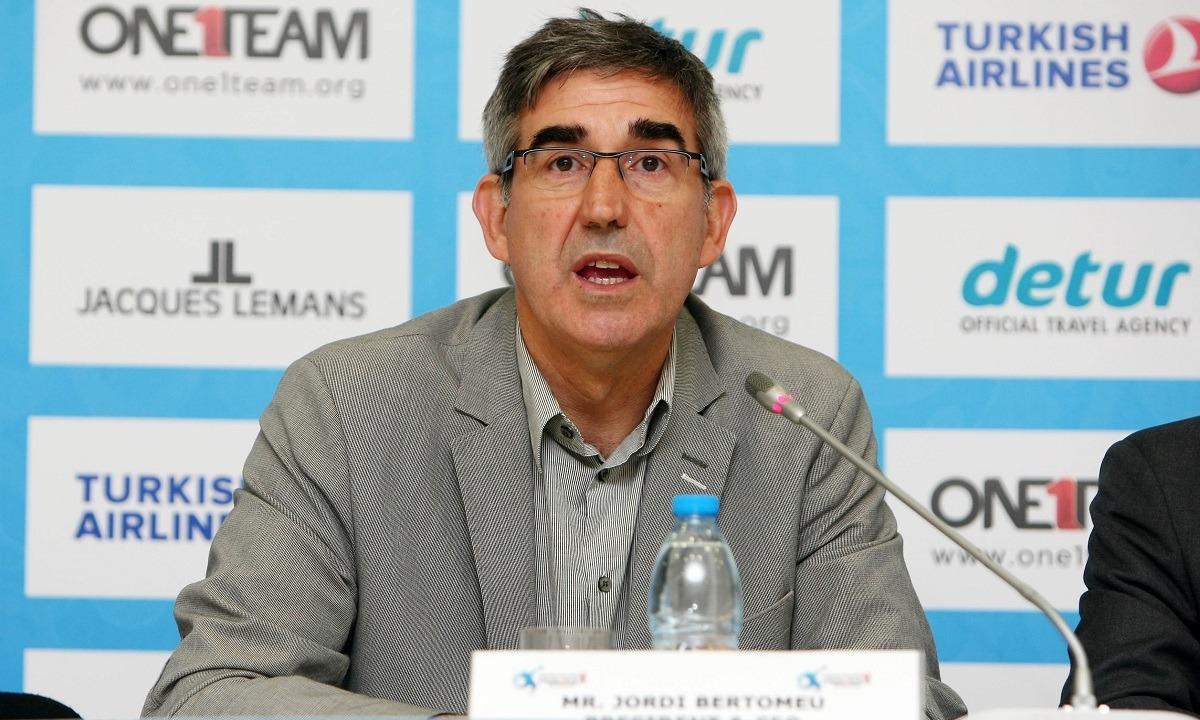 Μπερτομέου: «Είμαι περήφανος για το πώς οι ομάδες υποδέχθηκαν την οριστική διακοπή»