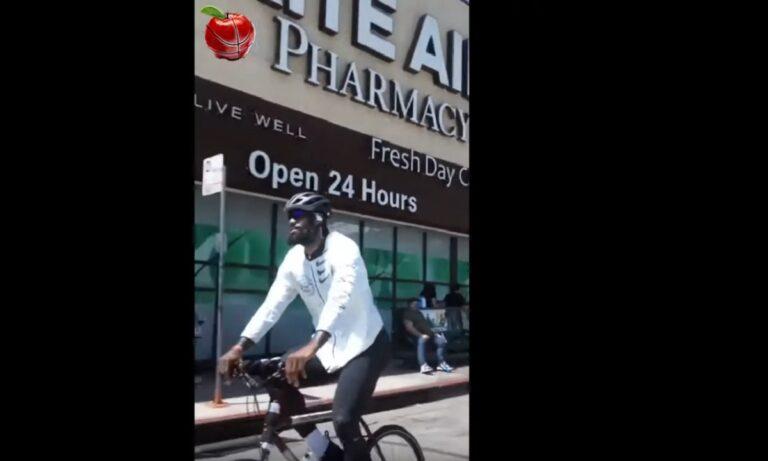 NBA: ΛεΜπρόν, Άντονι Ντέιβις, Τζέι Αρ Σμιθ κάνουν ποδήλατο στους δρόμους στο Λος Άντζελες! (vid)