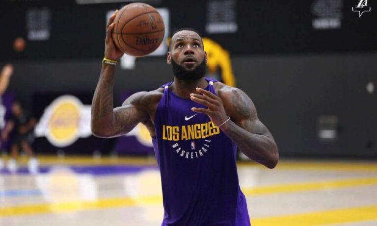 NBA: Λέικερς και Κλίπερς προπονούνται σε ιδιωτικές εγκαταστάσεις παρά την καραντίνα (vid)