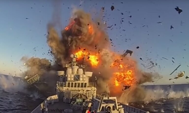 Fake news το βίντεο με τον πύραυλο που χτυπά και βυθίζει ιρανικό πλοίο