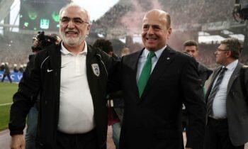 Σαββίδης - Αλαφούζος: «Συνεργασία στην τηλεόραση»