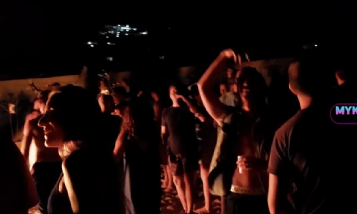 Μύκονος: Έξαλλο πάρτι κατά του κορονοϊού και ντου της αστυνομίας!