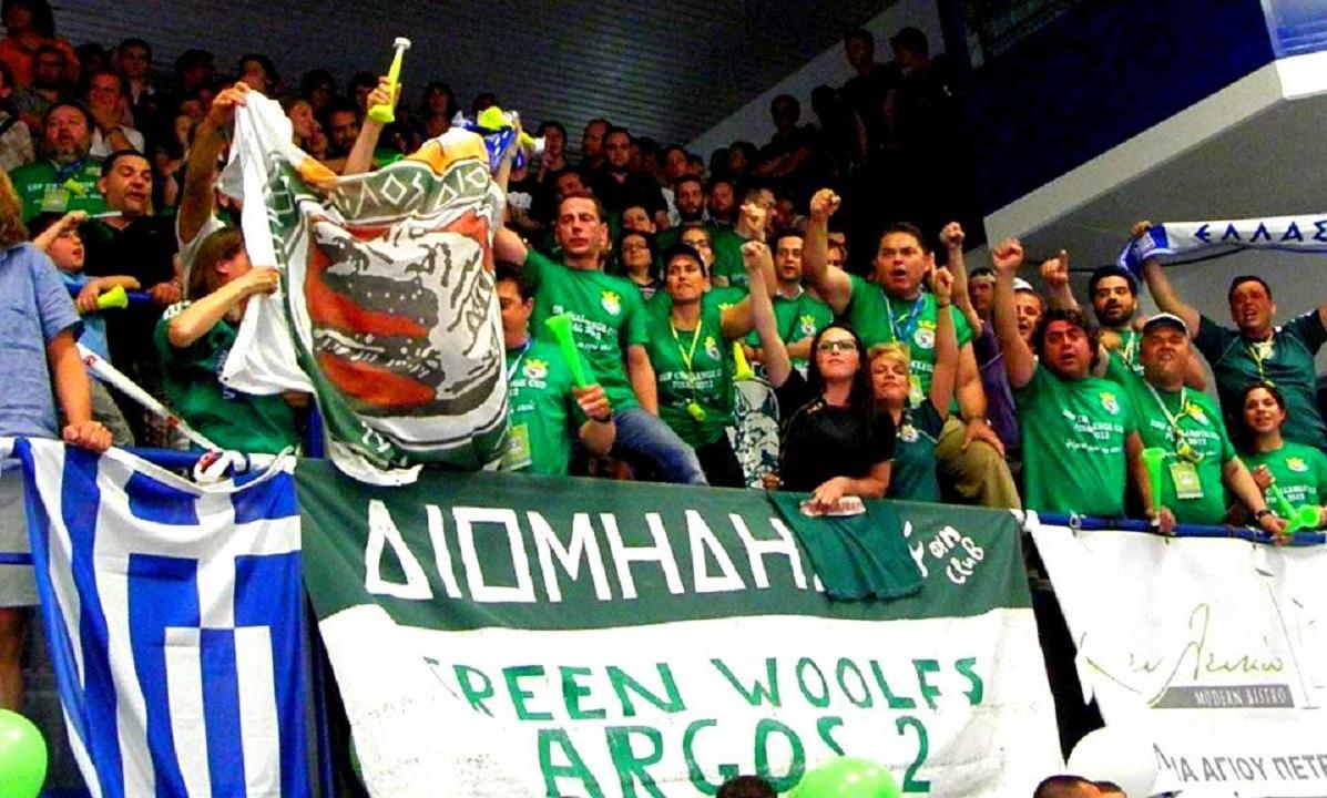 2012: Ο Διομήδης Άργους κατακτά το Challenge Cup (vid)