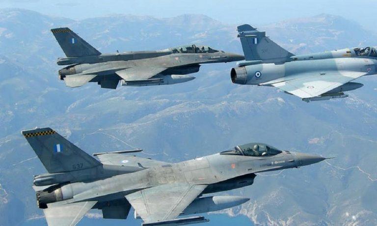 Νέες προκλήσεις από τα τουρκικά F-16