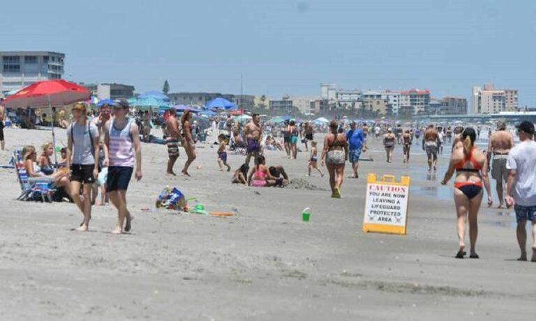 Φλόριντα: Άφησαν 6 τόνους σκουπίδια στις παραλίες μετά το lockdown