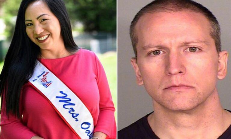 Υπόθεση Φλόιντ: Χωρίζει τον αστυνομικό η σύζυγός του!