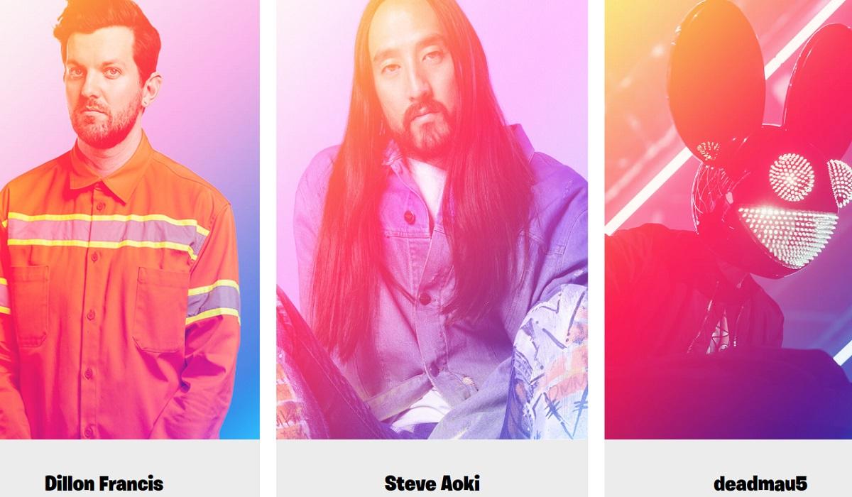 Fortnite: Live show σήμερα στο Party Royale με Dillon Francis, Steve Aoki και deadmau5
