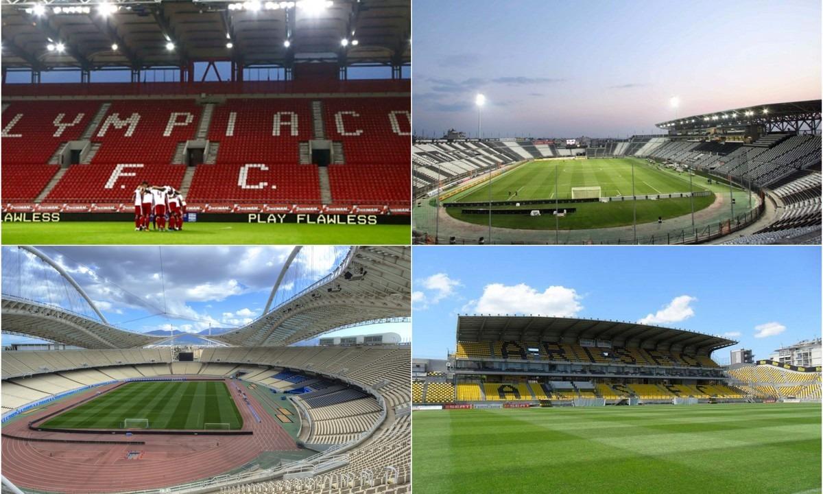 Super League 1: Το πρόγραμμα της 1ης αγωνιστικής, ώρες και κανάλια