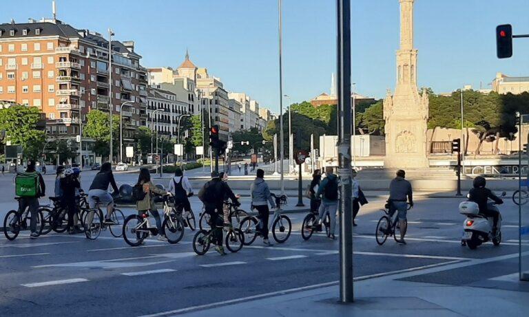 Μαδρίτη: Ένας απέραντος ποδηλατόδρομος (vid)
