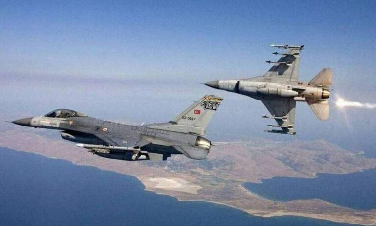 Συνεχίζει τις προκλήσεις η Τουρκία: Μαχητικά έφτασαν σε Πάτμο, Χίο και Λέσβο