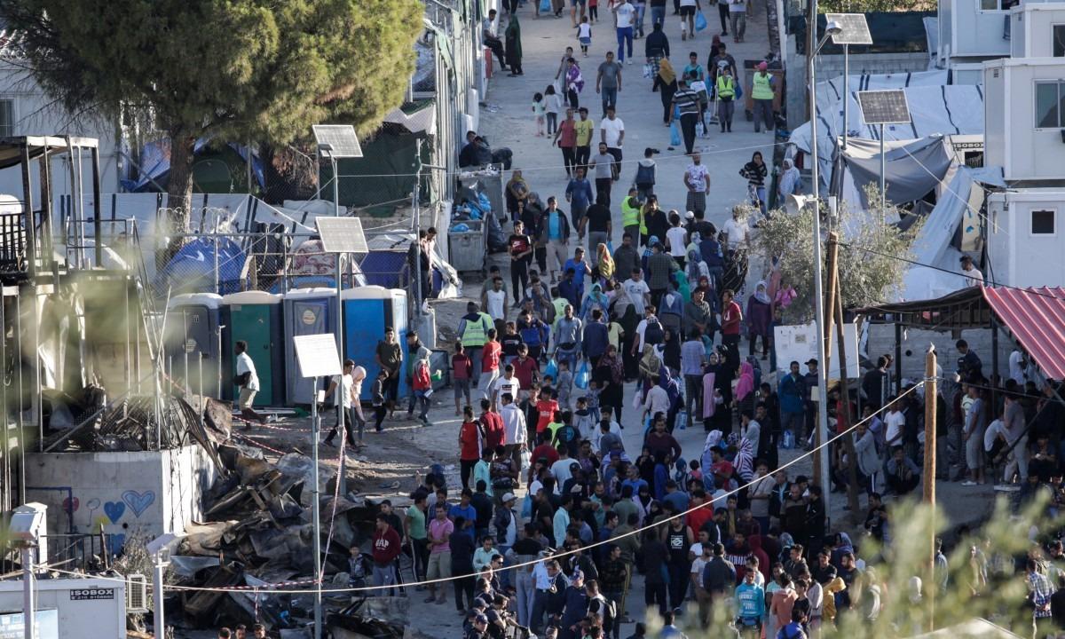 Μυτιλήνη: Σε κρίσιμη κατάσταση νεαρός μετά από σύγκρουση μεταξύ αιτούντων άσυλο - Sportime.GR