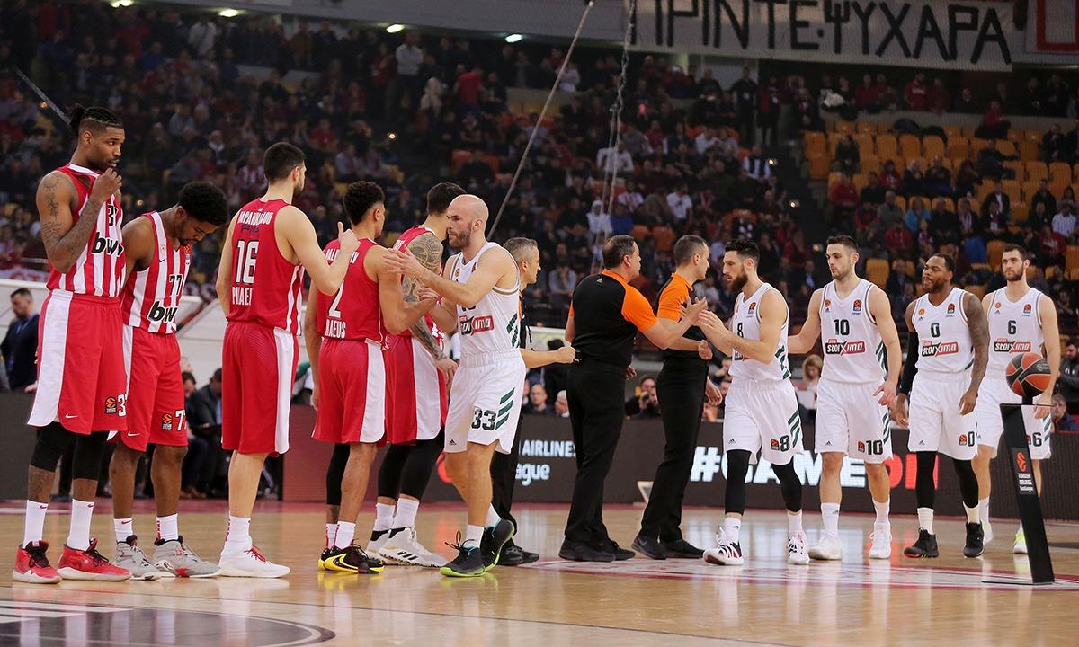Ολυμπιακός: Παραμένει εκτός Basket League - Sportime.GR