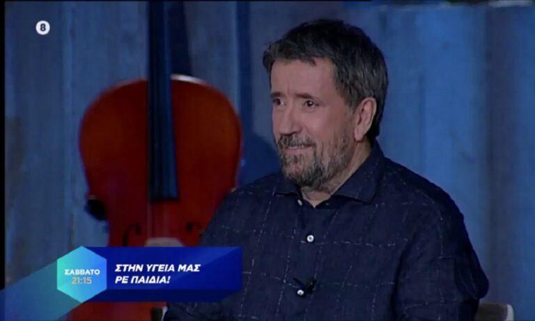 Στην Υγειά μας: Συγκινημένος ο Σπύρος Παπαδόπουλος στην επιστροφή του