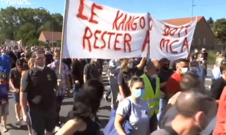 Γαλλία – Ισπανία: Διαμαρτυρία για τις απολύσεις σε Nissan, Renault (vid)