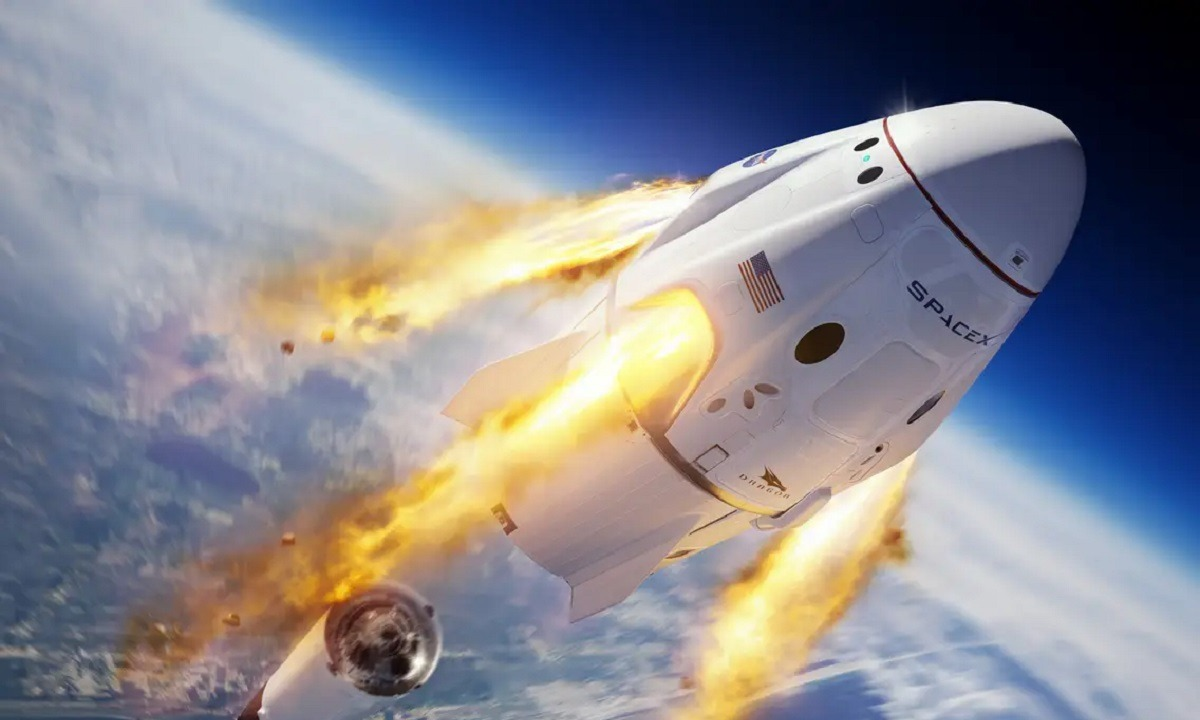 SpaceX: Η αποστολή έφτασε στον Διεθνή Διαστημικό Σταθμό
