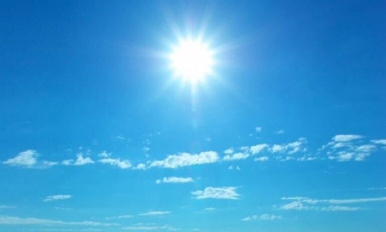 Καιρός (14/05): Ηλιοφάνεια και υψηλές θερμοκρασίες σε όλη την Ελλάδα