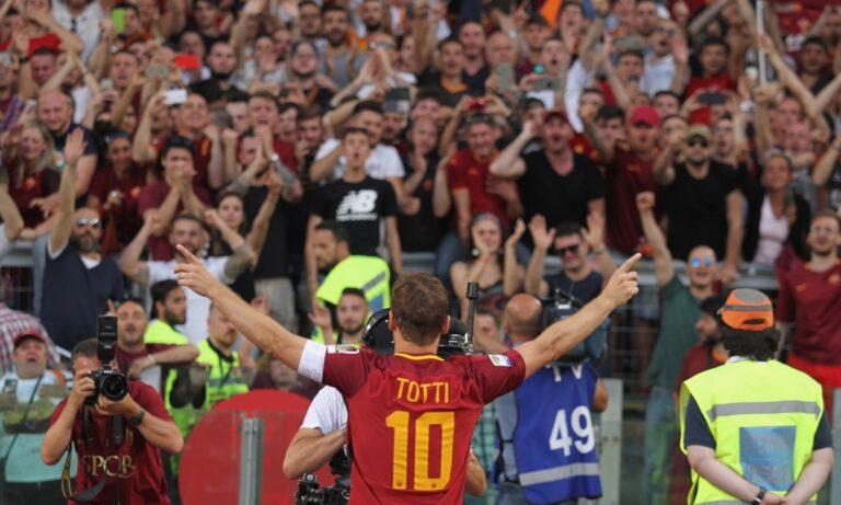 Το «αντίο» του Τότι στην αγαπημένη του Ρόμα και στο ποδόσφαιρο (pics-vids)