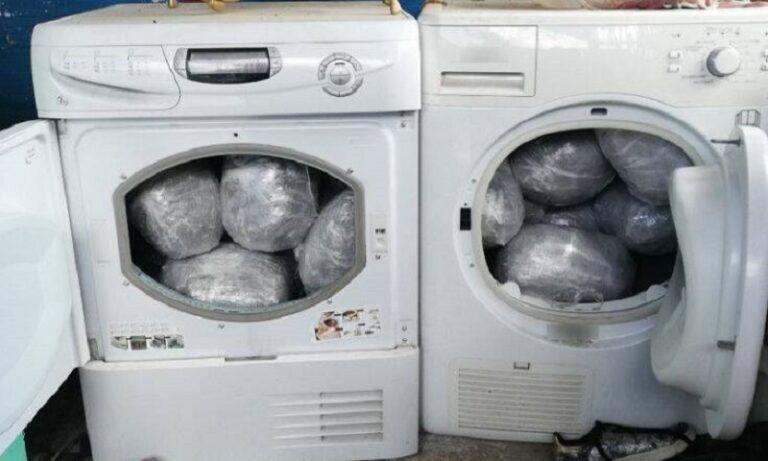 Νοικοκυρές έκρυβαν σε στεγνωτήρια 20 κιλά χασίς