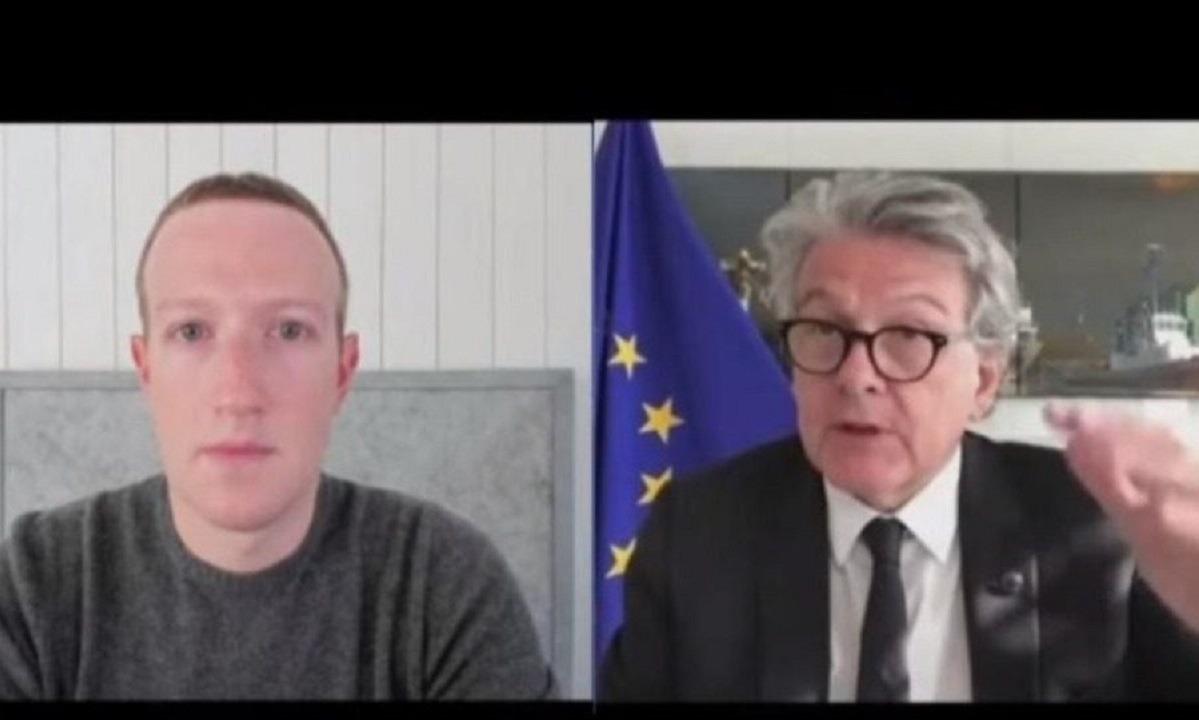 Ευρωπαίος επίτροπος σε Ζούκερμπεργκ: «Πλήρωσε φόρους και μην κάνεις τον έξυπνο!» (vid)