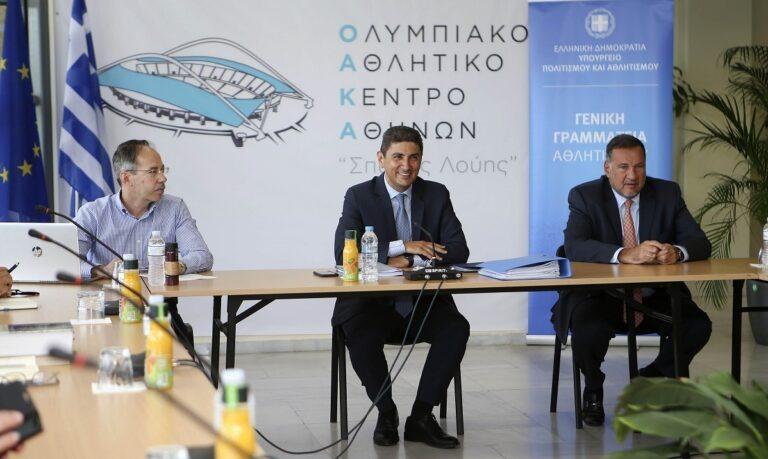 Αυγενάκης: «Δέσμευση Μητσοτάκη, ότι θα πάμε την Ελλάδα ένα βήμα πιο μπροστά»