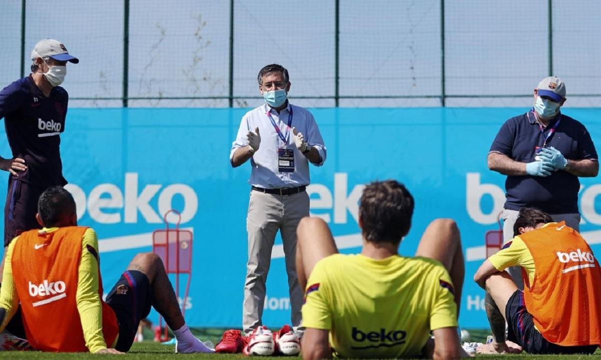 Μπαρτσελόνα: «Πόρτα» των παικτών σε πρόταση για δεύτερη μείωση μισθών - Sportime.GR