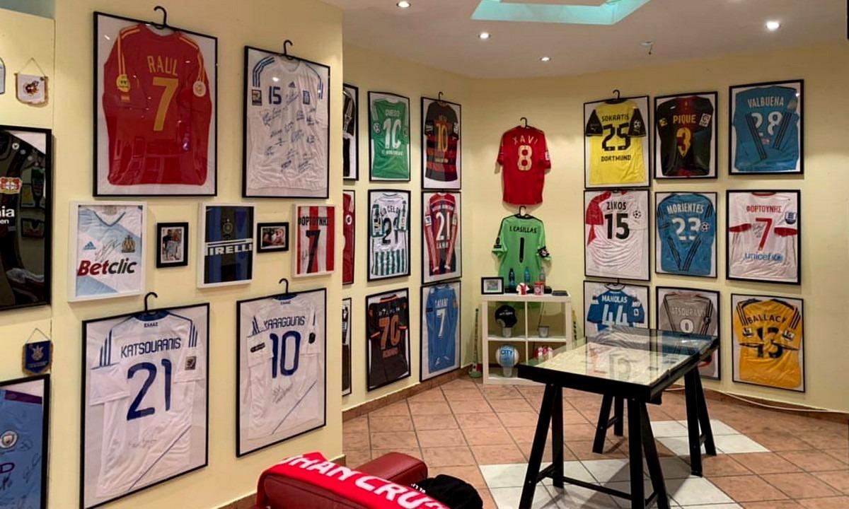 Chal's Museum: Το μέρος που ονειρεύονται όσοι αγαπούν το ποδόσφαιρο