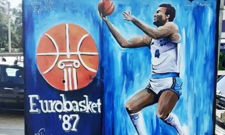 Μητρέλλος για το νέο γκράφιτι του Γκάλη: «Ο Άρης η μεγαλύτερη ομάδα στην Ελλάδα»