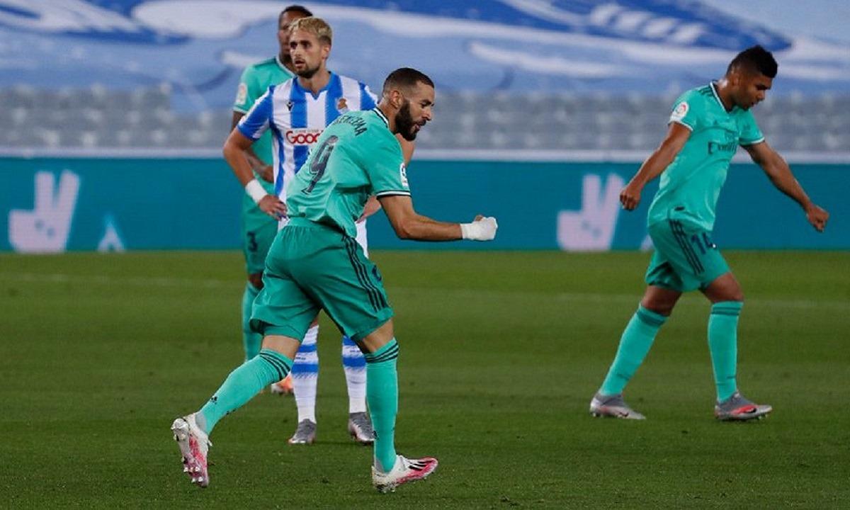 Ρεάλ Σοσιεδάδ – Ρεάλ Μαδρίτης 1-2: Διπλό κορυφής (vid). Ήταν ένα από τα επικίνδυνα ματς που είχε στην προσπάθεια...