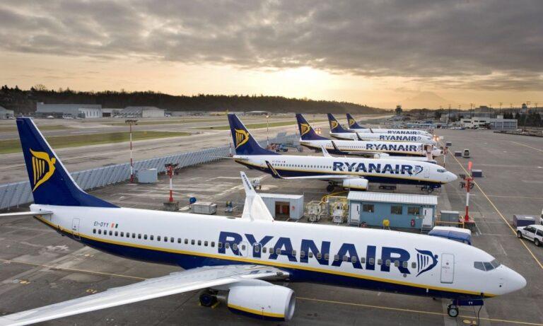 Ryanair: Μεγάλη πτώση στις τιμές των εισιτηρίων