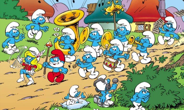 Η μέρα των μικροσκοπικών μπλε πλασμάτων, των Στρουμφ! (vids)