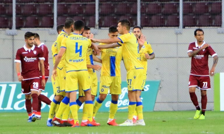 ΑΕΛ – Αστέρας Τρίπολης 1-2: Αστεράτη ανατροπή