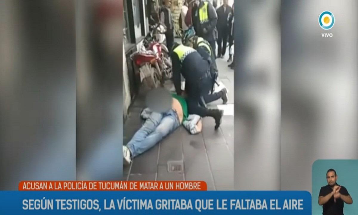 «Υπόθεση Φλόιντ» και στην Αργεντινή - Άνδρας πέθανε από ασφυξία (vid)