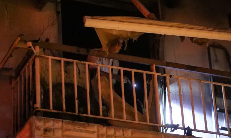 Γαλάτσι: Πυρκαγιά σε διαμέρισμα (vid)