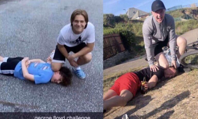Παγκόσμιος σάλος με το σοκαριστικό «George Floyd Challenge» (pics)