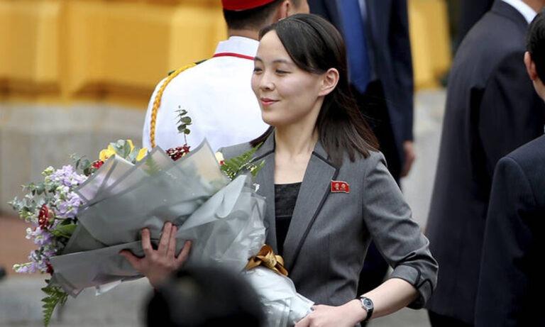 Κιμ Γιονγκ Ουν: Τα… πήρε η αδερφή του με τη Νότια Κορέα!