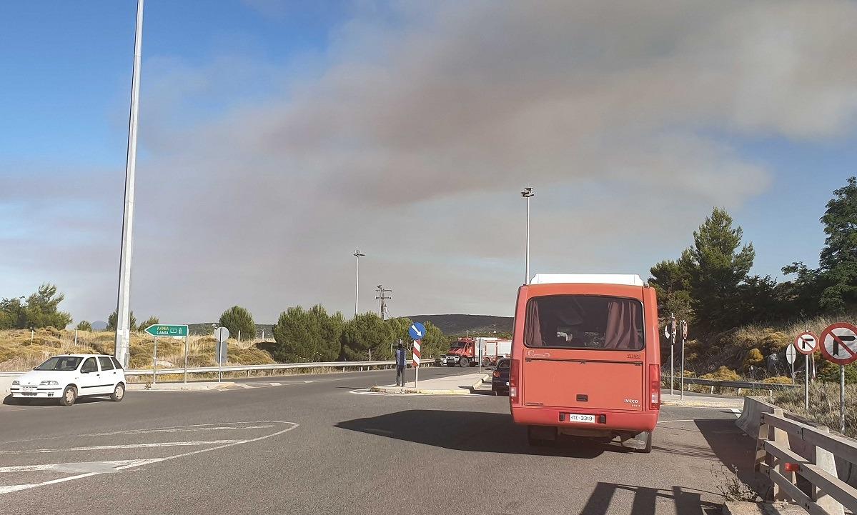 Υπό έλεγχο η πυρκαγιά στο Μαρτίνο, άνοιξε η Εθνική οδός (vids)
