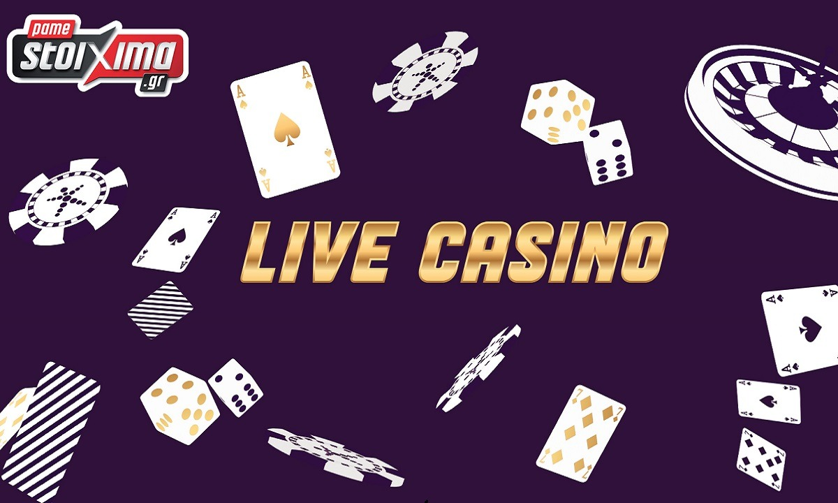 Νέα εμπειρία Live Casino από το Pamestoixima.gr