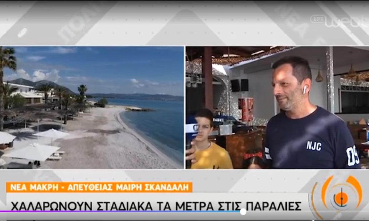 Άρση μέτρων: «Ναι» στο αλκοόλ στις παραλίες, «όχι» στη μουσική! (vid)