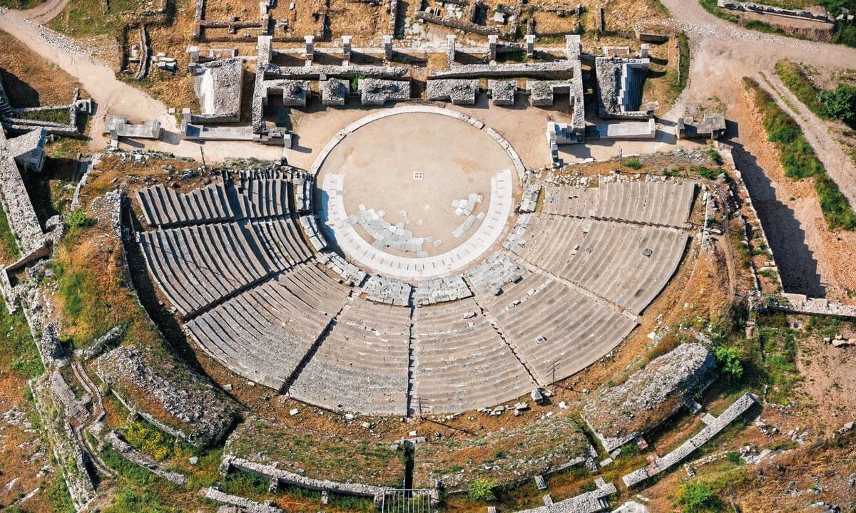 Μεγάλης έκτασης έργα στον αρχαιολογικό χώρο των Φιλίππων για την ενοποίησή του (vid)