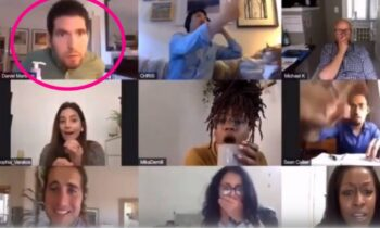 Pornhub: Αυνανίστηκε live κατά τη διάρκεια σύσκεψης! (vid)