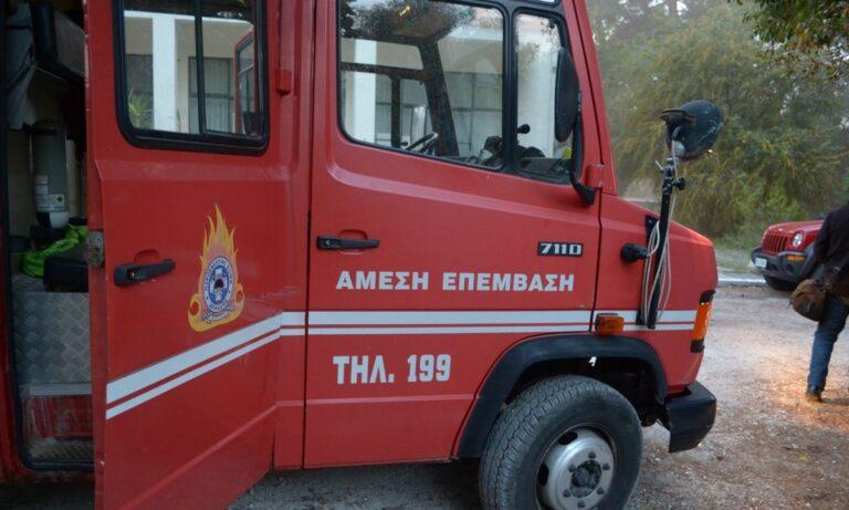 Φωτιά στο Μαζαράκι Αχαΐα: Στο σημείο βρίσκονται 25 πυροσβέστες (pic)