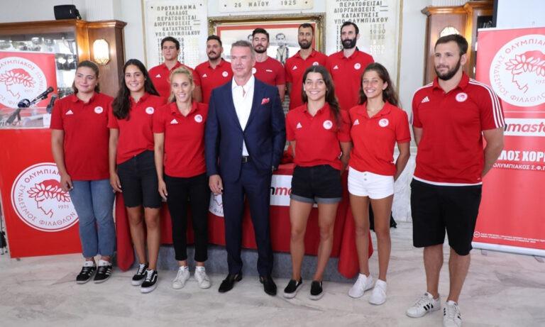Ολυμπιακός: «Η WinMasters στηρίζει τον ερασιτεχνικό αθλητισμό» (pics+vid)