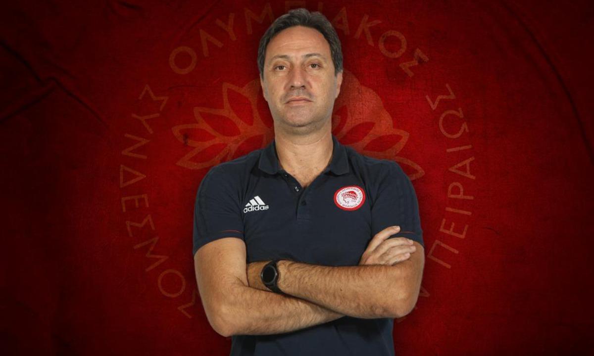 Ολυμπιακός – βόλεϊ: Ανακοίνωσε Σαραντίτη προπονητή